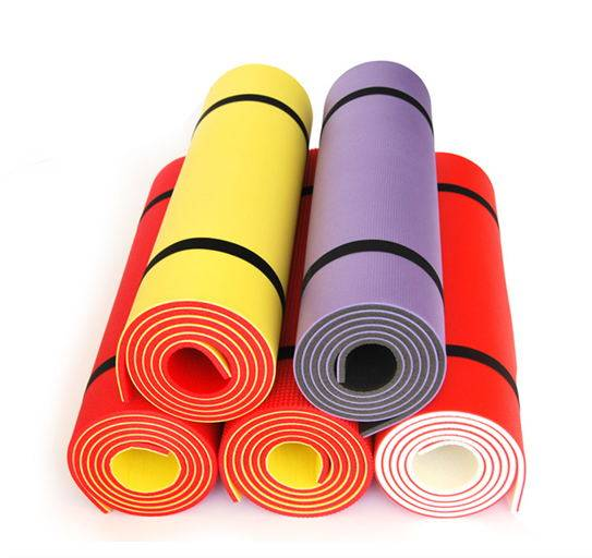 Gym fitness indoor exercise Yoga mat