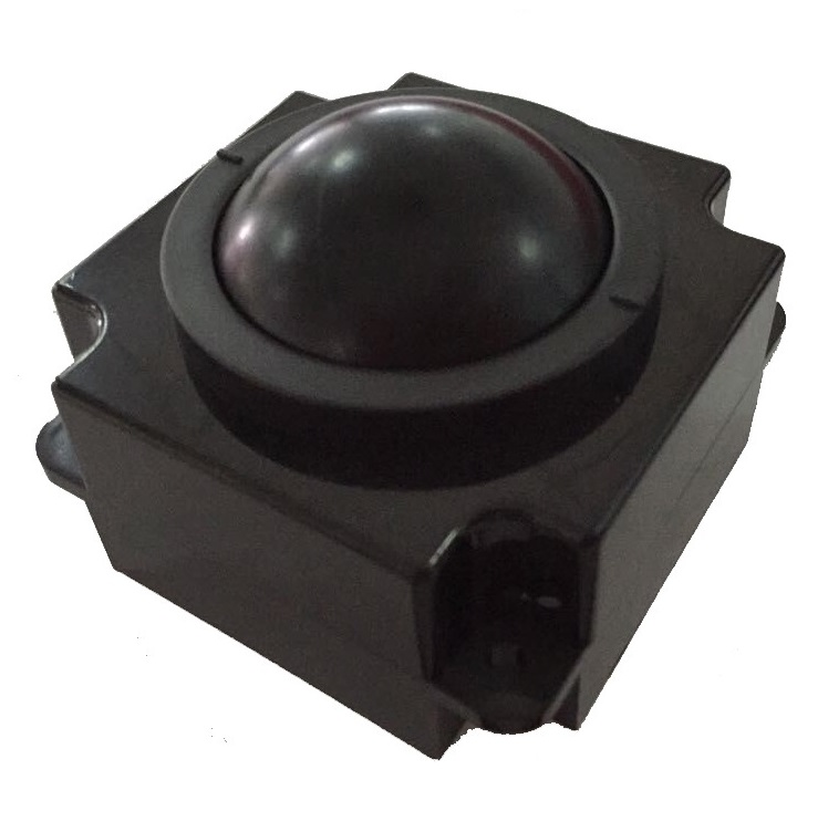 50.mm mechanical trackball module mouse for industrial and military