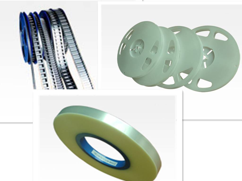 High quality bopp packaging carrier tapes