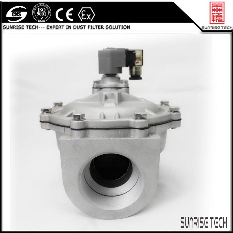SUNRISE TMF series valve straight through pulse jet diaphragm valve