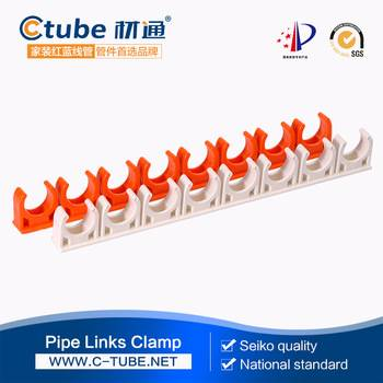 pvc saddle clamp for electrical conduit