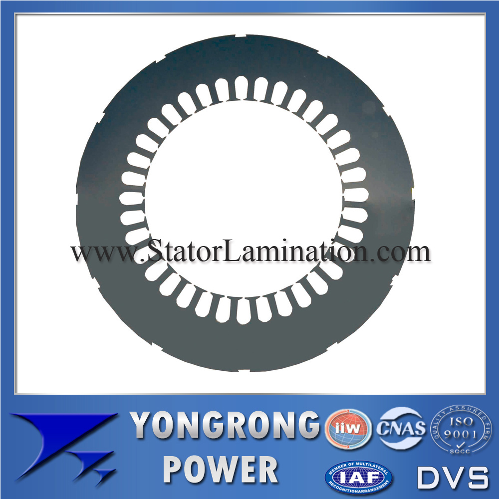 IE3 Preminum Efficiency Electric Motor Silicon Steel Stator Lamination