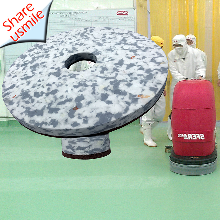 Innovative product 17inch Combo Melamine floor cleaning pads