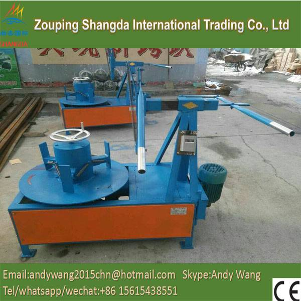 waste tyre recycling line/tire bead ring cutter