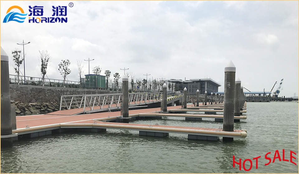 China Manufactured and High Quality Aluminum Alloy Floating Pontoon