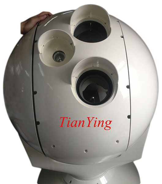5km/7km Electro Optical Tracking Infrared Thermal Camera System install to ship, vehicle, tower