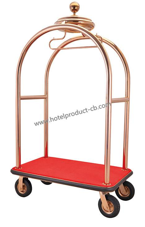 Stainless steelLuggage cart
