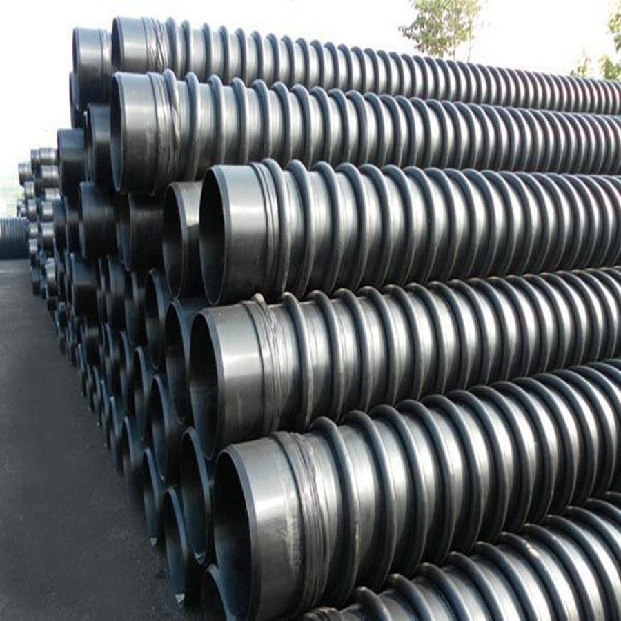Carat Black Enhanced Winding Electric Corrugated Pipe