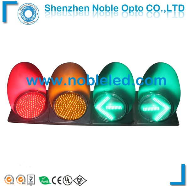 300mm vehicle led traffic light with arrow signs
