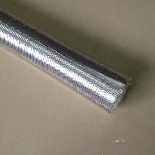 Aluminum fiberglass heat protection tube