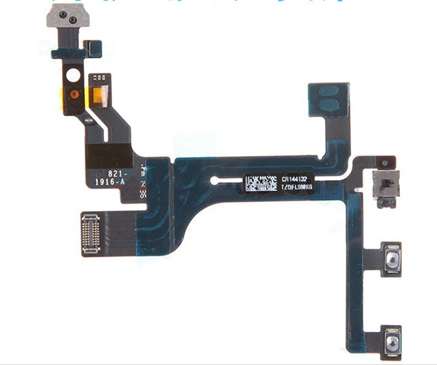 For Iphone 6s Power Button Flex , Volume Button Flex Cable For Iphone 6s Repair parts