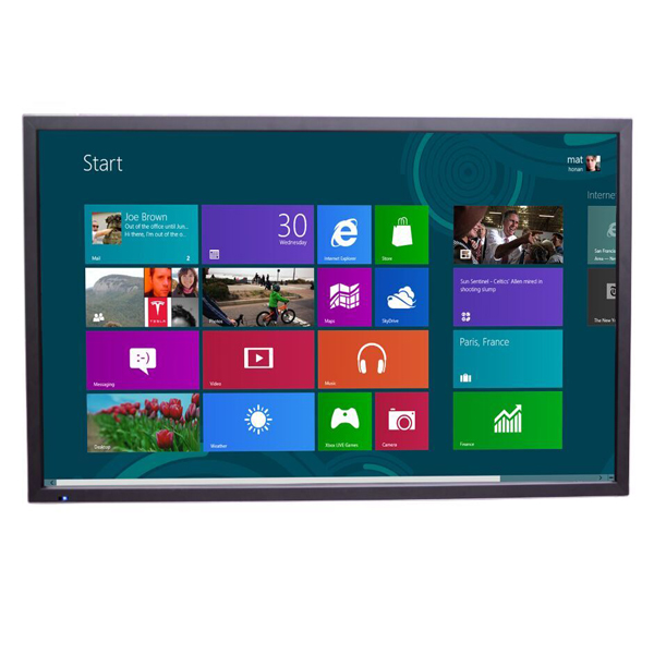 led/lcd touch screen interactive whiteboard