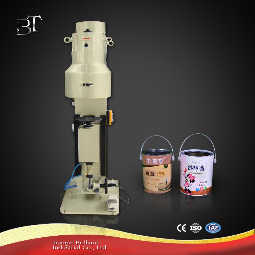 Hot sale semi-automatic round tin can seamer