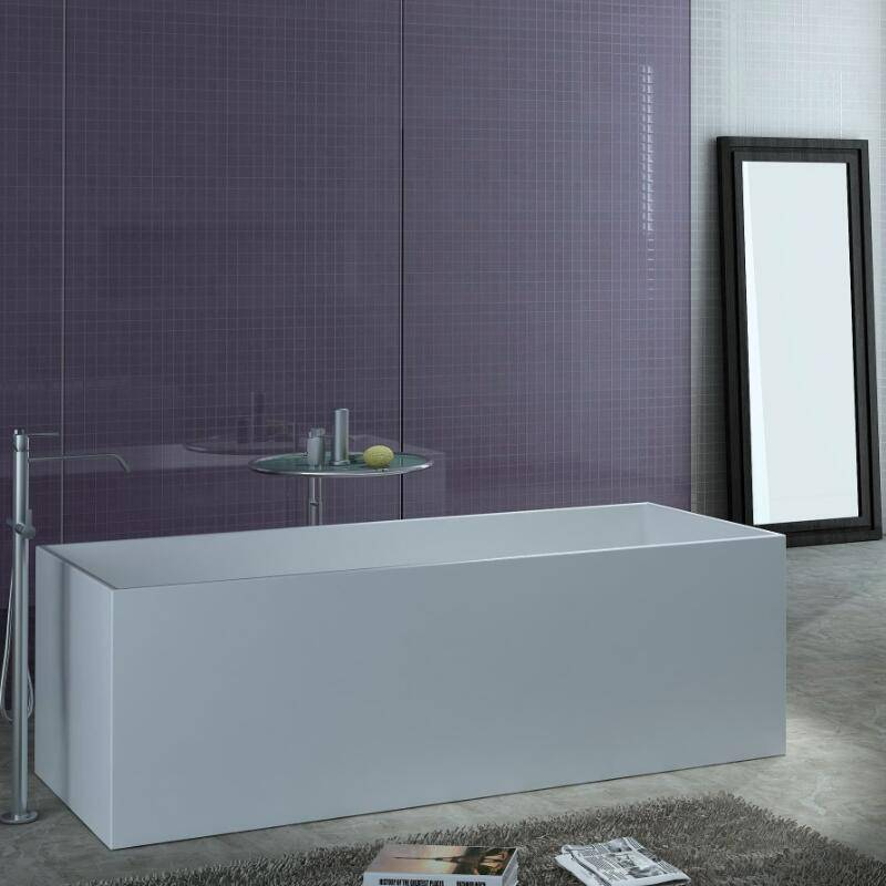 Corian Solid Surface Freestanding Bathtub with Cupc Approval (PB1014-1700)