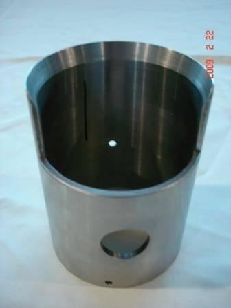 CNC part for aerospace