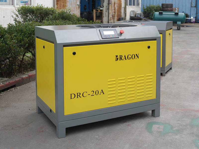 stationary Dragon screw air compressor with CE certification
