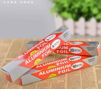 300mm*10m aluminum foil rolls paper for roasting freezing baking barbecue