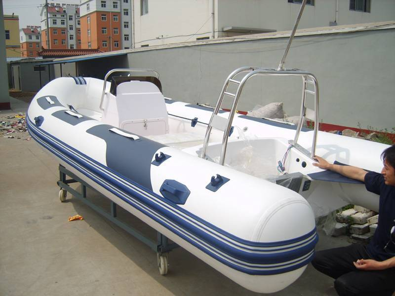 RIB520-b rigid inflatable boat grp boat frp boat rigid hull boat