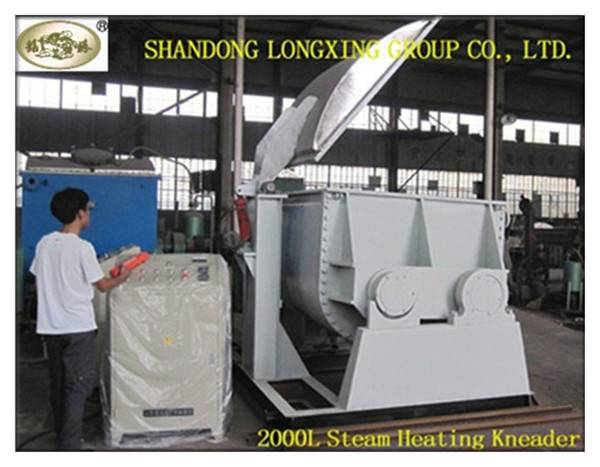 Electric Heating Double Sigma Kneader Mixer