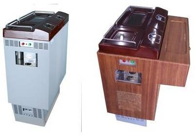 All-in-one (Refrigerator & Heating cabinet) &