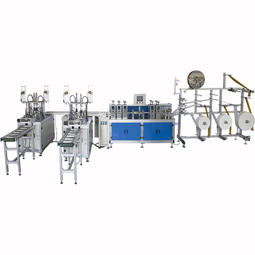 High speed 3ply ear loop non-woven disposable mask making machine