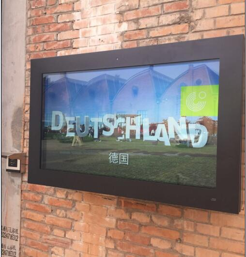 High Cost-effective LCD Outdoor High-brightness 2500nits Screen/Sun Readable Advertising Display