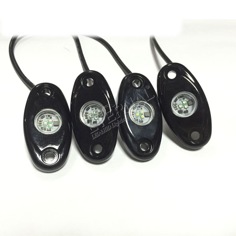 "3"" 9W single color rock light 1091S"