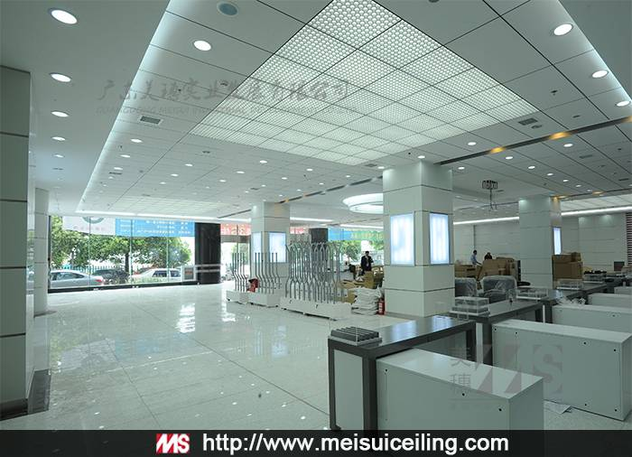 Interior Wall Panels For School Building/Acoustic Ceiling Tiles