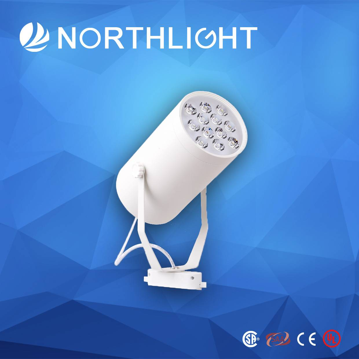 7*1W High Power Global LED Track Lamp