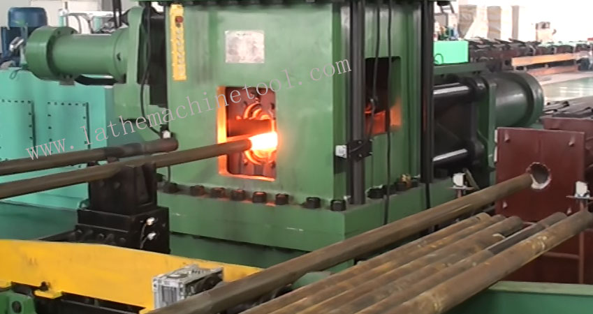 high efficient automatic pipe upsetting press for Upset Forging of drill bit