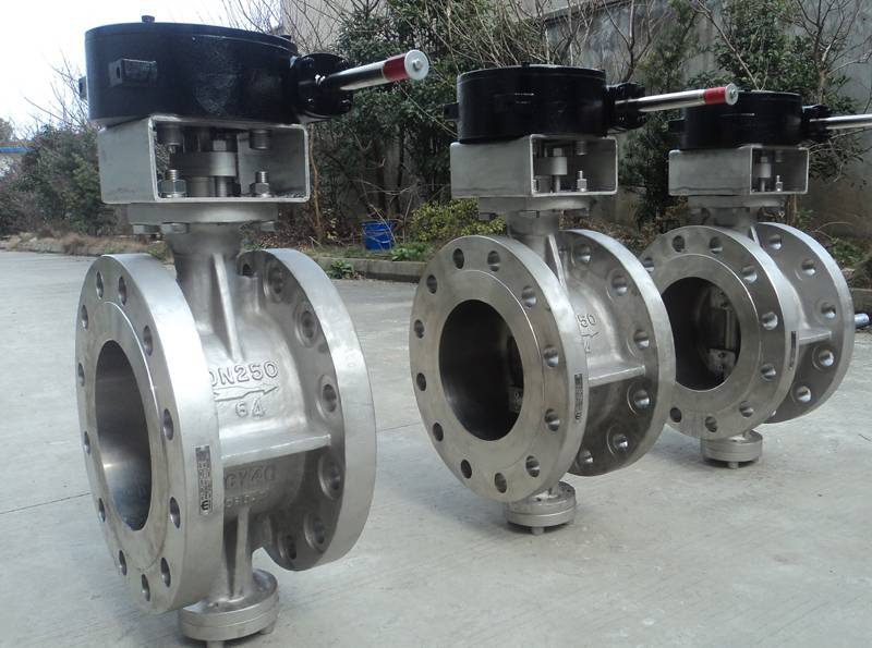 CY40 Triple Eccentric Butterfly Valve