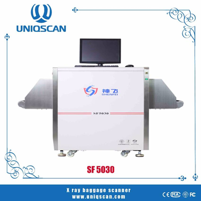 2016 best X-ray baggage scanner SF5030 for security inspection