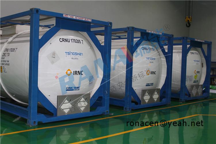 PTFE lined storage equipment anticorrosive tank