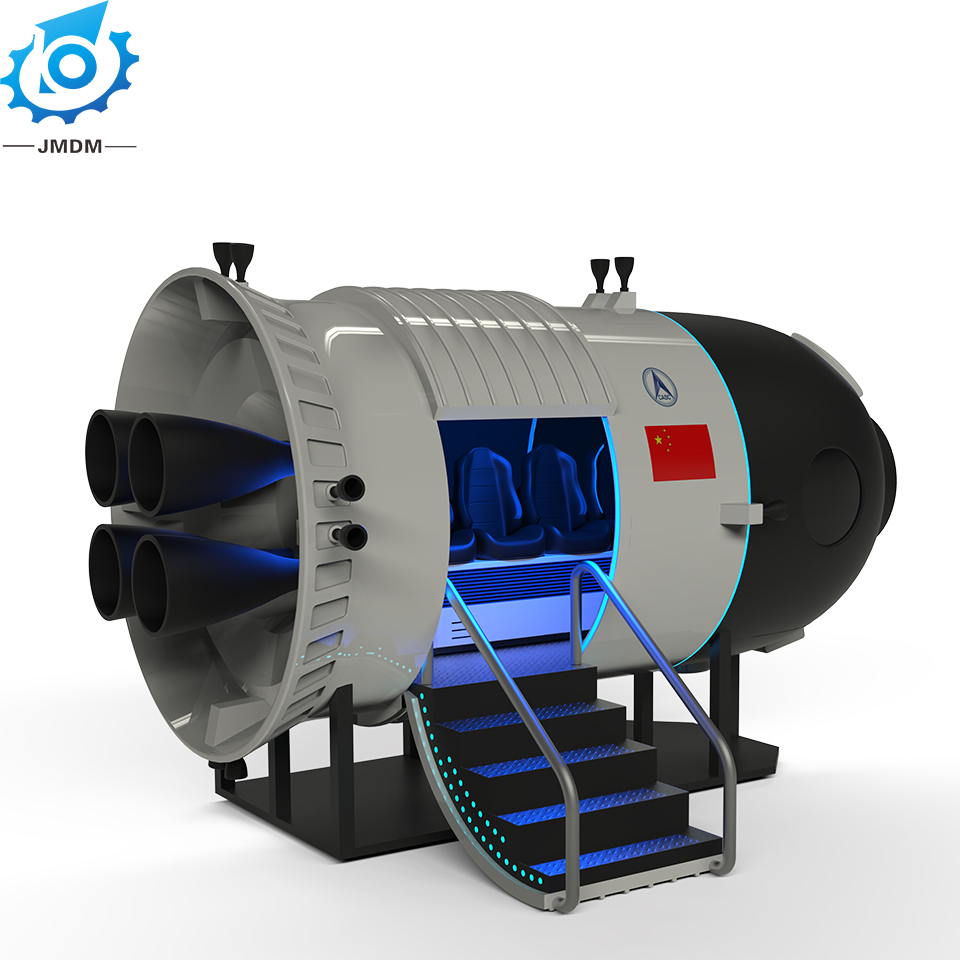 Temple One Target Aircraft Simulator high-end theme vr spaceship for sale