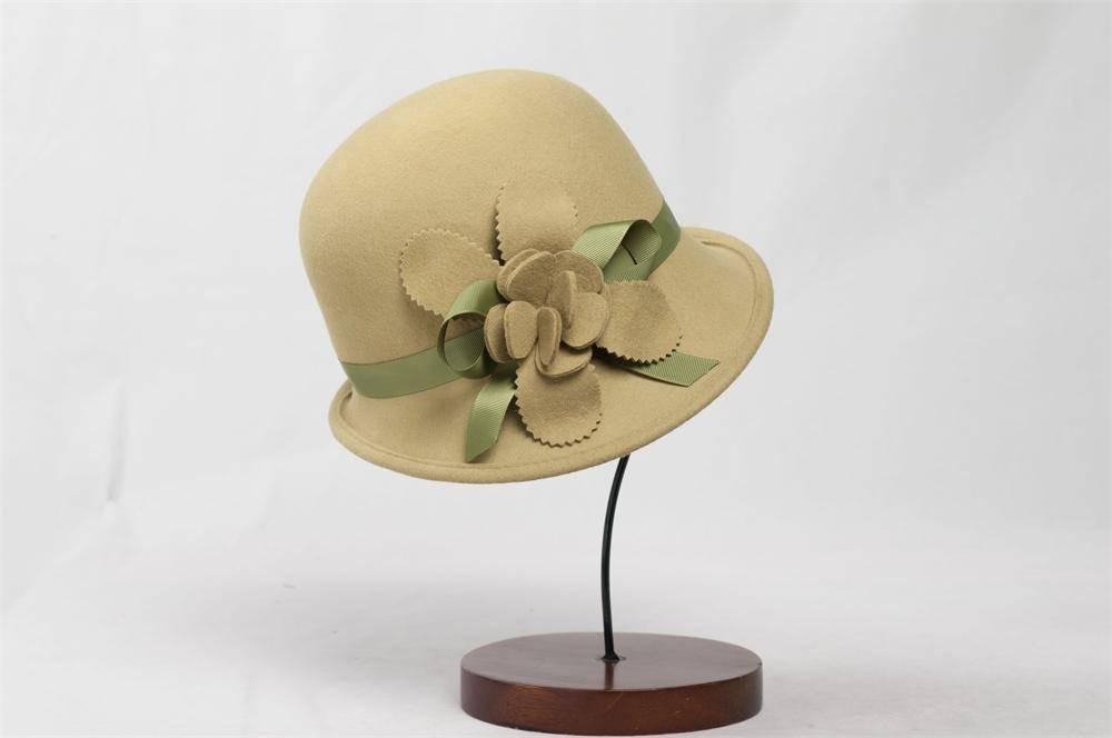 100% Australia Wool Felt Hat (FW006106)