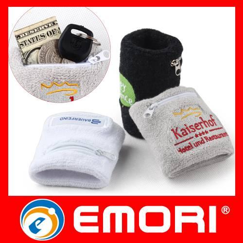 Hot Sales Promotional Cotton Sport Wrist Sweatband