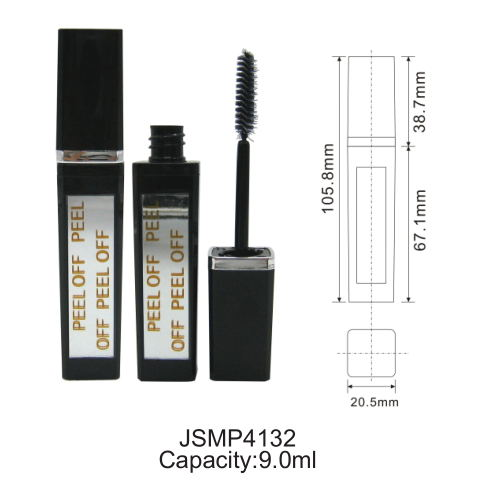 Empty Cosmetic Mascara Tube