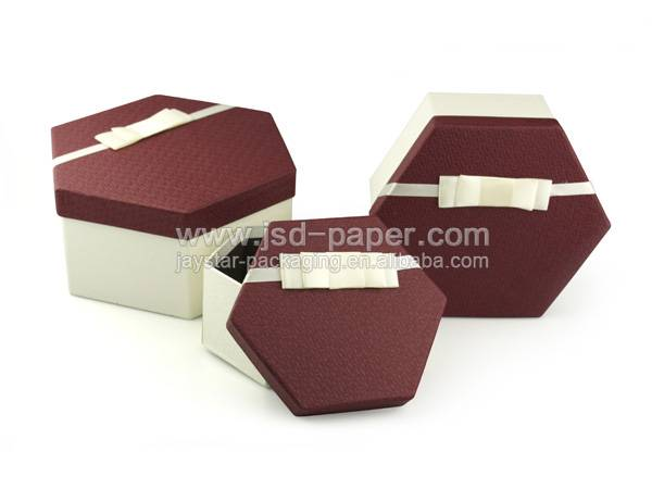 GB-L004 Nice shape wedding paper packaging box for gifts