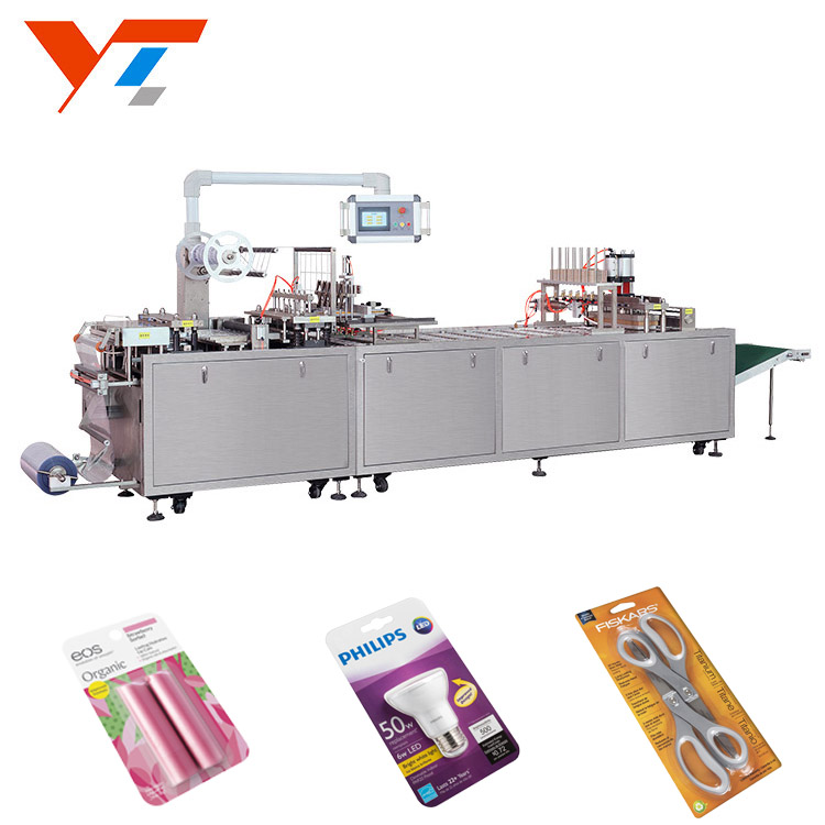 CE Approved Automatic Blister Card Packing Machine