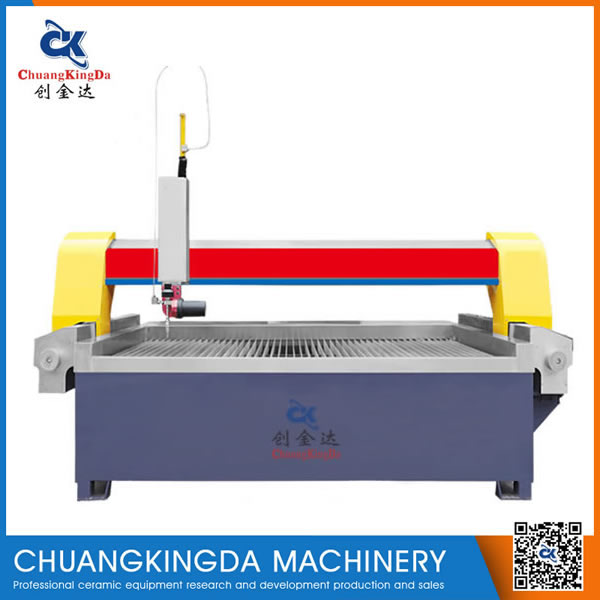 CKD-Five axis gantry waterjet cutting machine/swing machine/Ceramic tile stone steel glass cutter