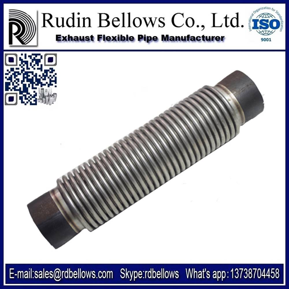 Exhaust Flexible interlock Metal Hose with High Quality