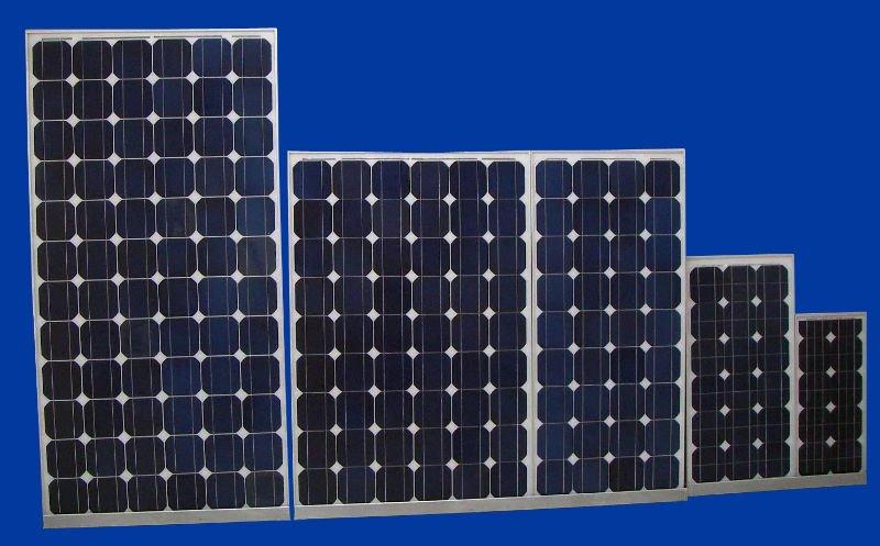 5w-300w Price Per Watt Solar Panels Mono Crystalline Silicon PV Module
