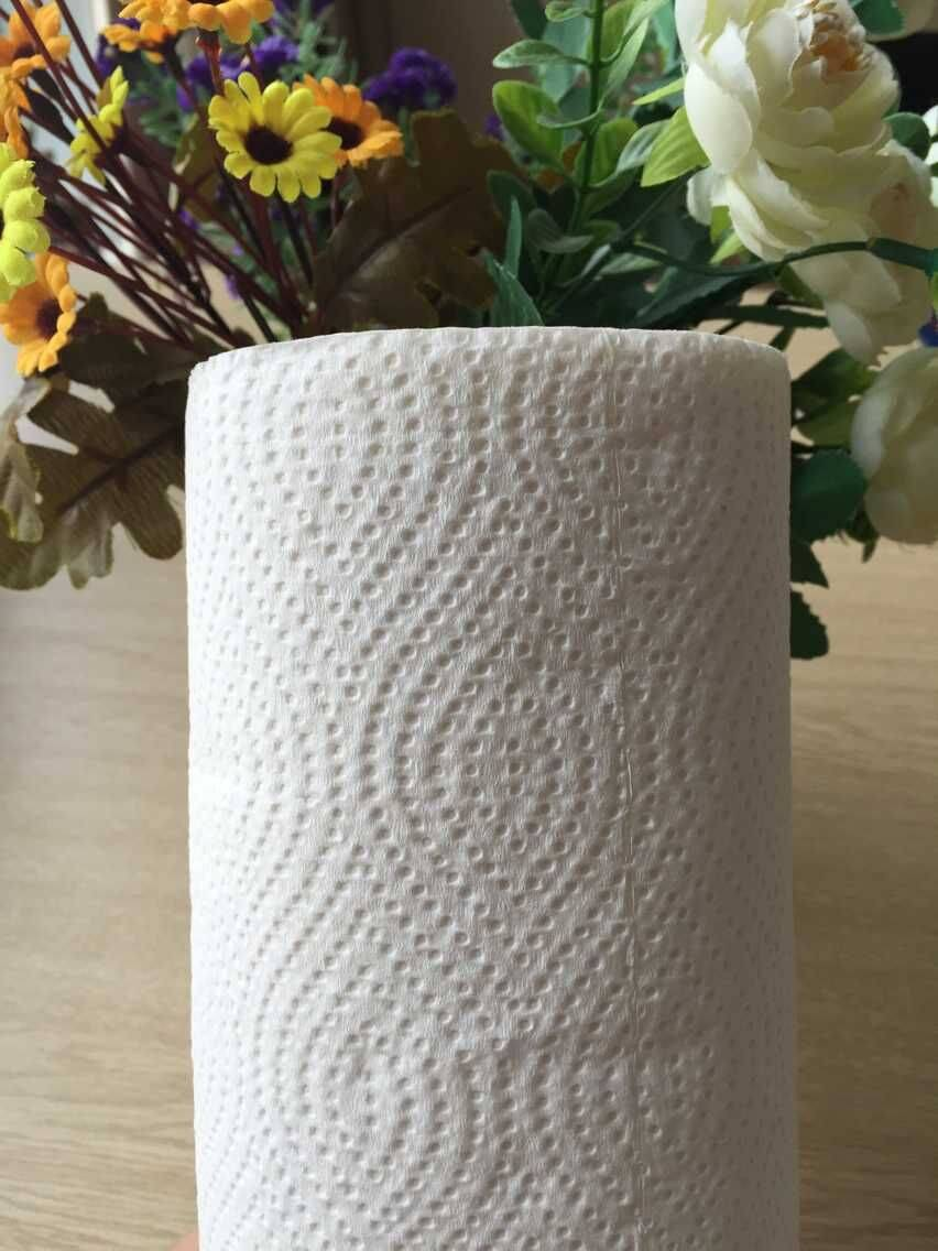 White embossing Kitchen Paper Towel
