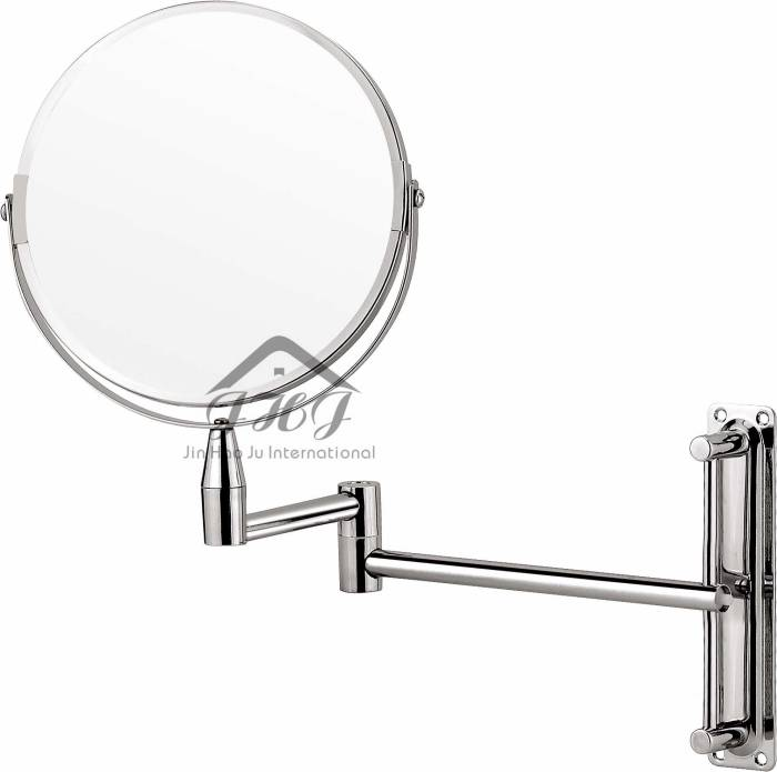 Two-Sided Swivel Wall Mount Mirror
