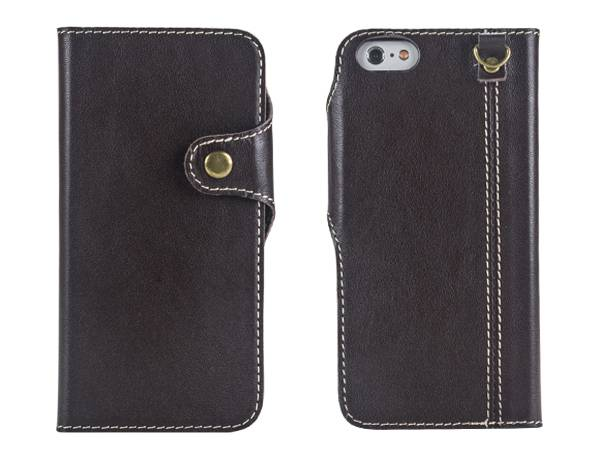 IP6S911 Retrostyle Book Leather Case for iPhone 6/6s