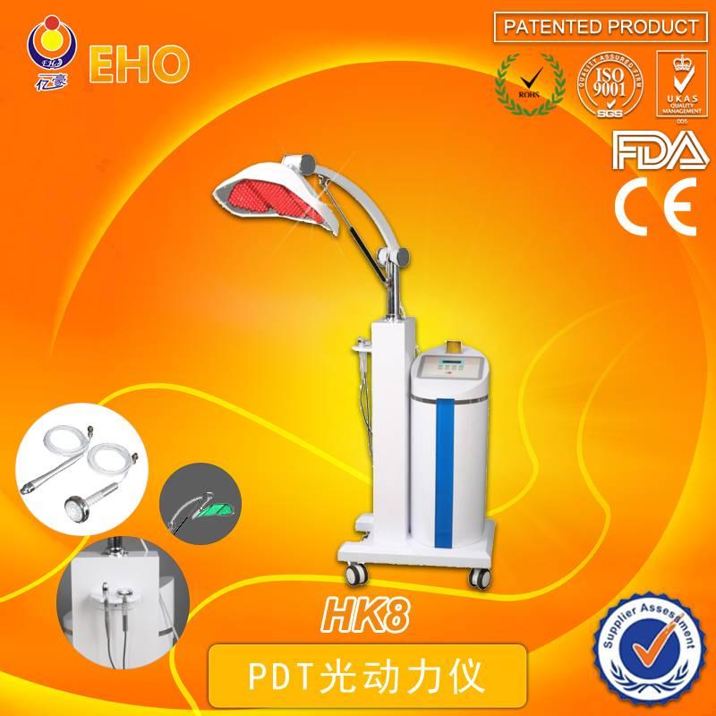 Latest PDT technology HK8 LED light wrinkle remover facial equipment(skin care)