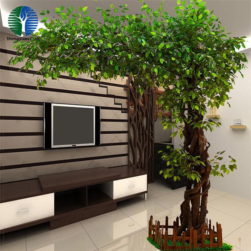 Artificial ficus banyan tree