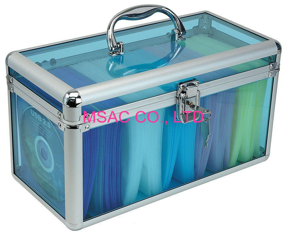 Acrylic DVD Carry Cases,Transparent CD Cases for hold CD