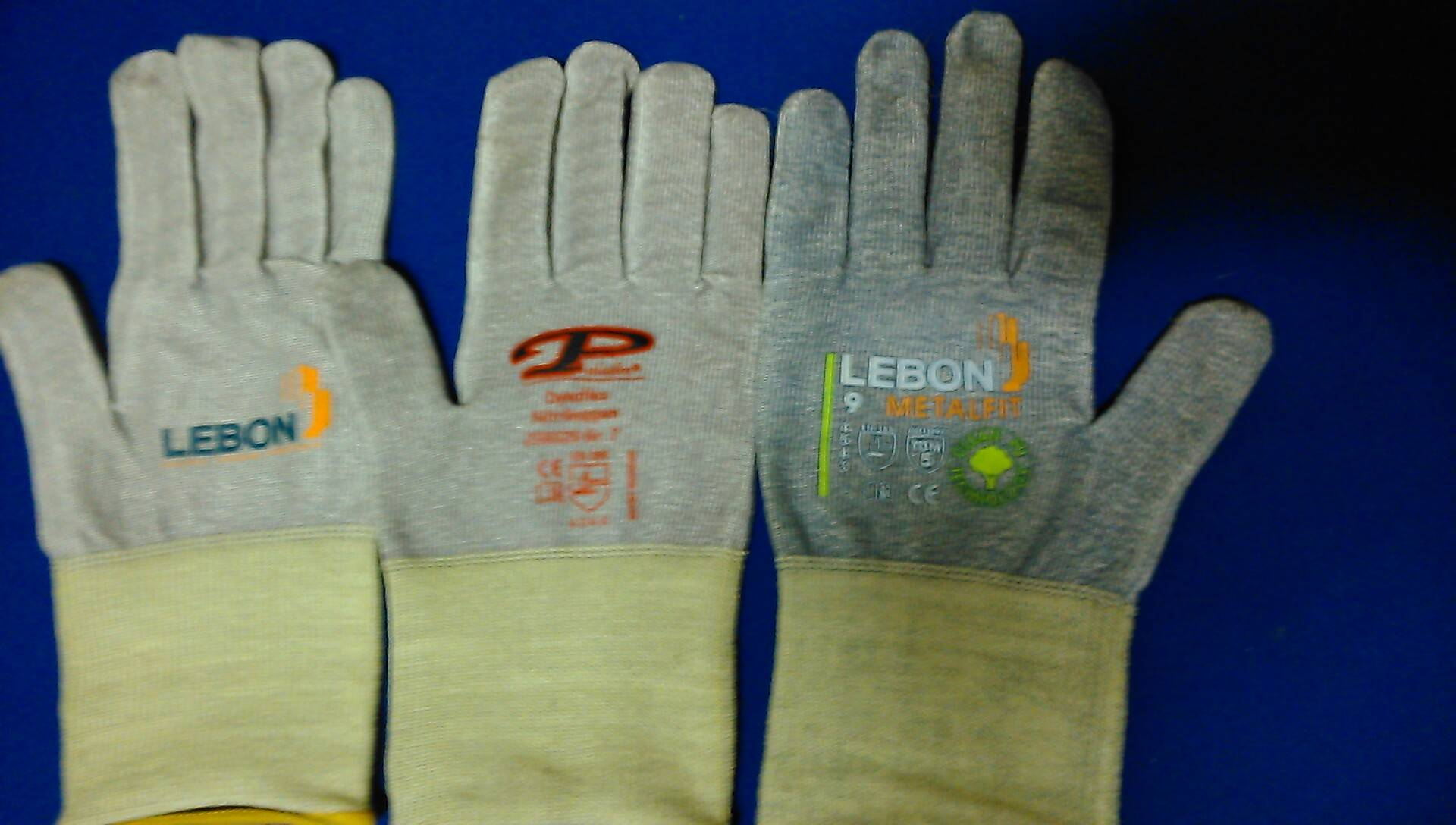 LABEL HEAT TRANSFER FOR GARMENT INDUSTRIAL WORKING KNITTED GLOVES