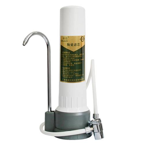 Single Countetop Water Filter Drinking Straight High Qaulity